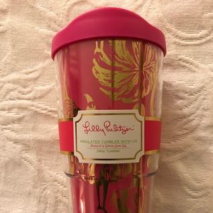 Lilly Pulitzer Insulated Drink Tumbler